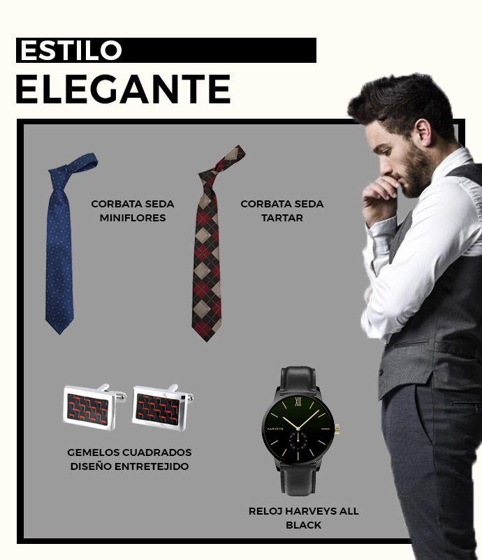 A un hombre elegante no le faltan corbatas y gemelos en su armario ... 9a0d2e13be36