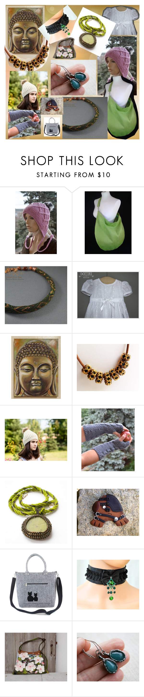"""""""etsy finds for Xmas"""" by iwona-sikorska on Polyvore featuring Preciosa"""