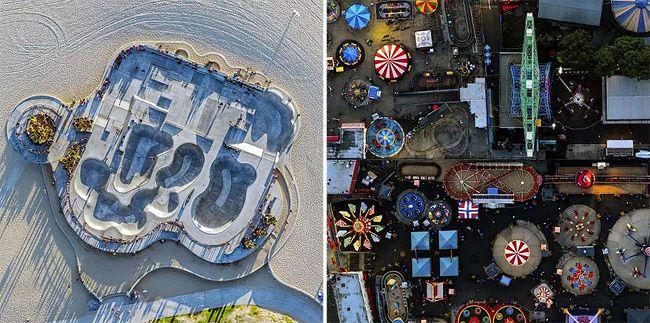 Jeffrey Millstein's aerial potography