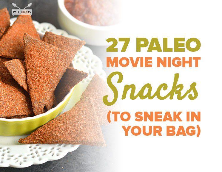 27 Paleo Movie Night Snacks (to Sneak in Your Bag)