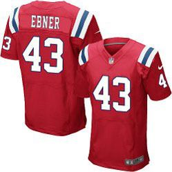 hot sale online 8c023 2000e $78.00--Nate Ebner Red Elite Jersey - Nike Stitched New ...
