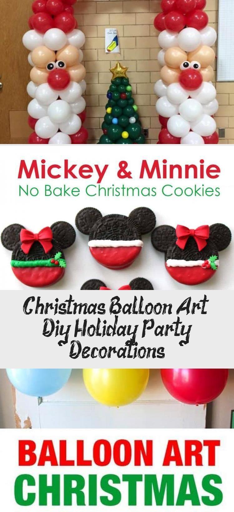 Creative ideas for Christmas Balloon Art! Fun DIY Holiday Decorations that turn ...,  #art #B...,  #art #Balloon #Christmas #CREATIVE #Decorations #DIY #Fun #Holiday #holidaydecorationsminimalist #Ideas #turn