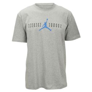 3afa195948b Jordan Retro 11 OG Font T-Shirt - Men's - Dark Grey Heather/Black/Legend  Blue