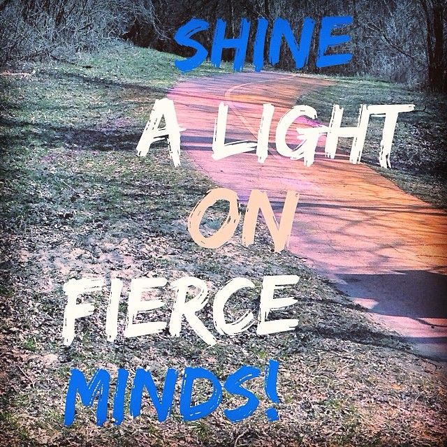 Shine a light on autism! In recognition of World Autism Awareness Day! #fierceminds #colordash5k #cd5k #wordswagapp #autism #shinealight #lightitupblue www.cd5k.com