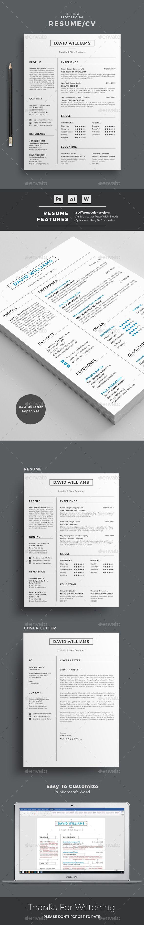 best resume format in word