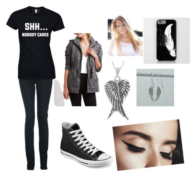 Jane's outfit: chapter one by sarahope0214 on Polyvore featuring polyvore, Charlotte Russe, Monkee Genes, Corrine Smith Design, Converse, Tressa, CO, men's fashion, menswear and clothing