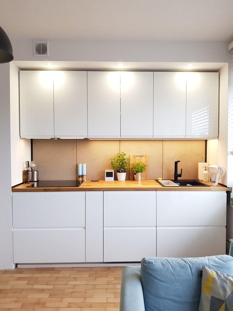 Zabudowa Kuchenna We Wnece Kitchen Kitchen Cabinets Decor