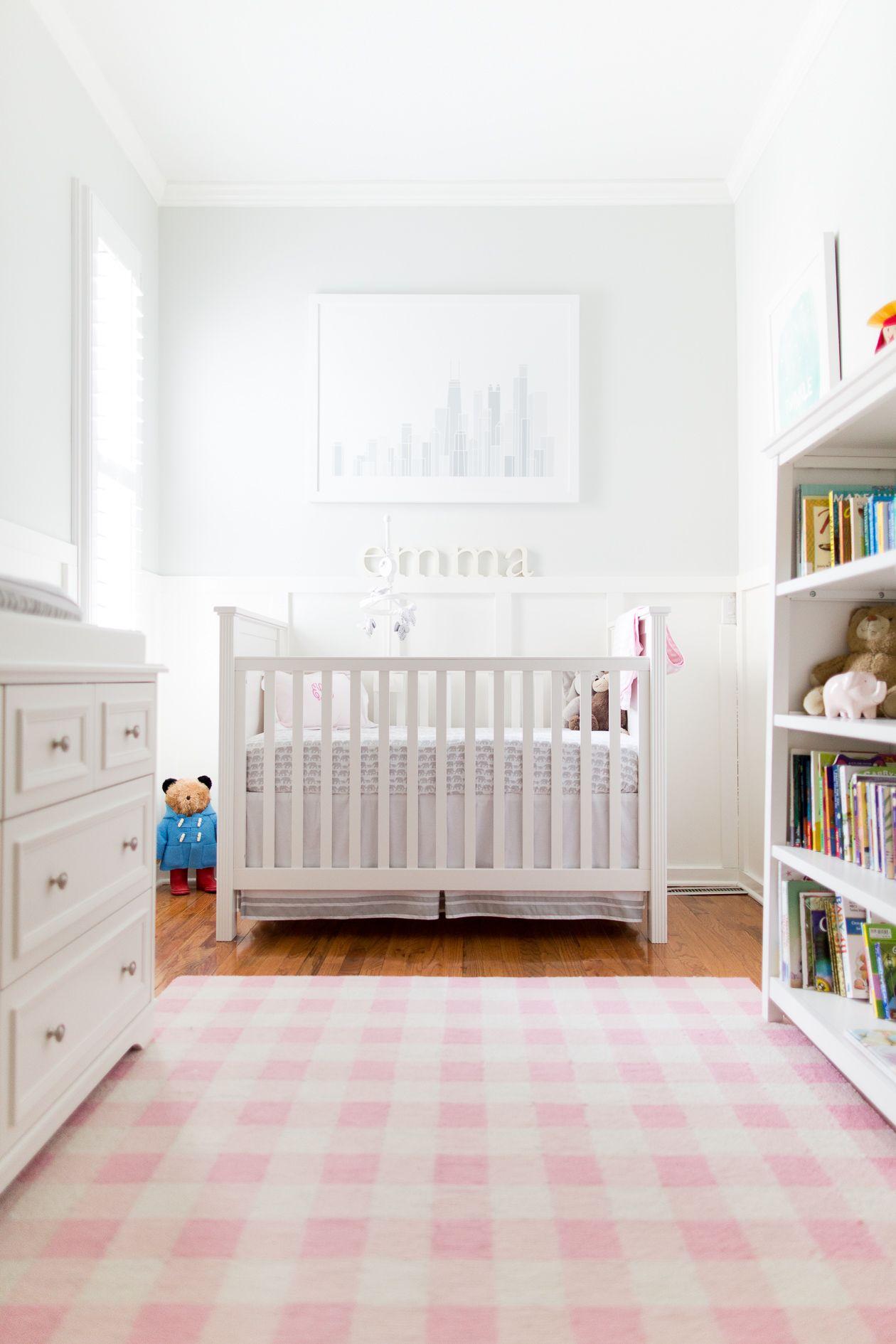 Emma S Nursery Girl Nursery Colors Baby Nursery Closet