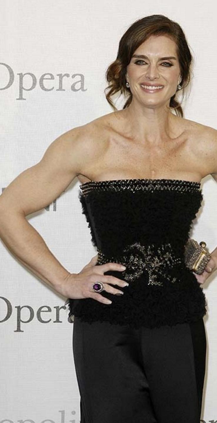 Brooke Shields #celebrity #muscle #fitness