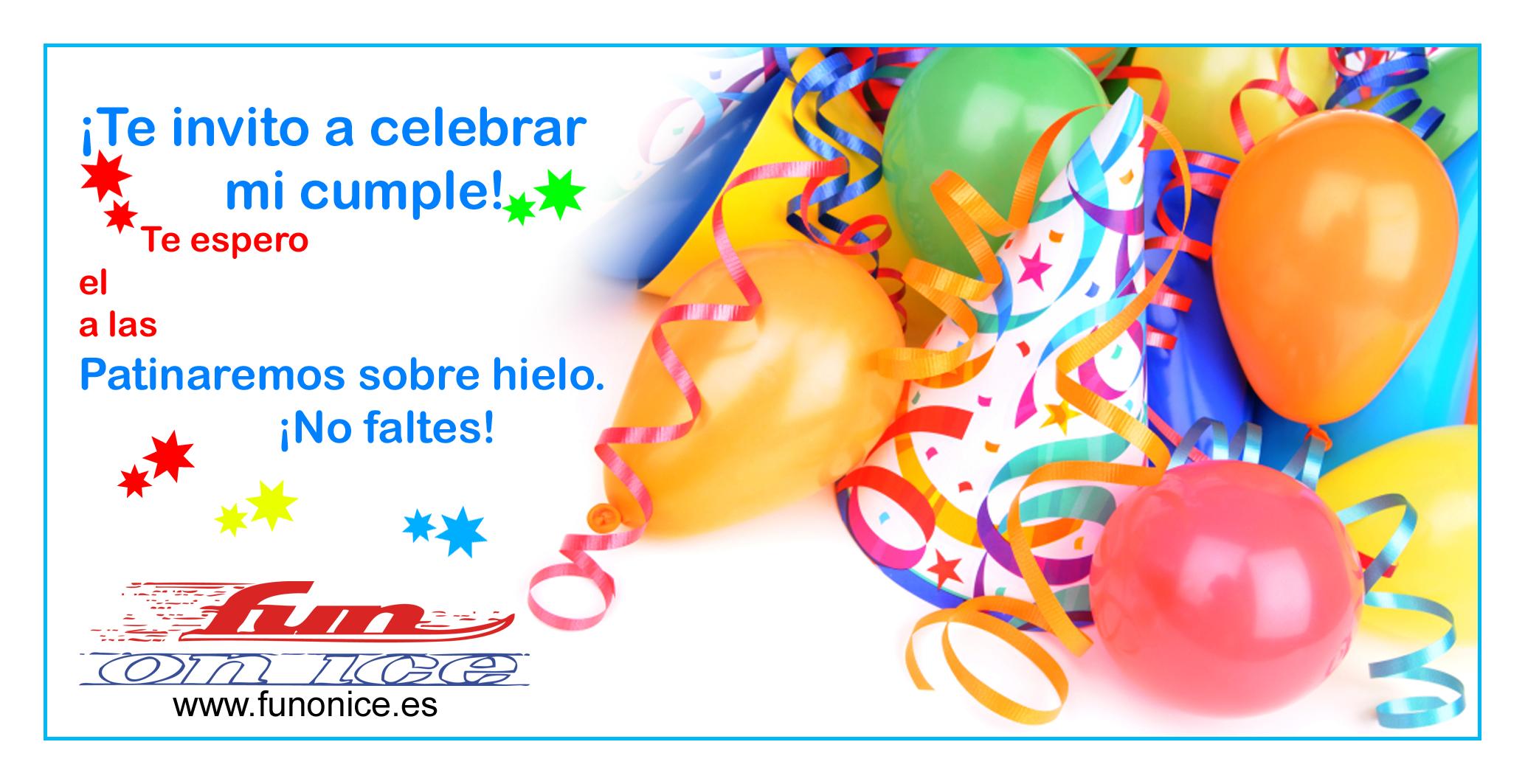 Invitaciones De Cumpleaños Virtuales - Wallpaper Hd Para Bajar ...