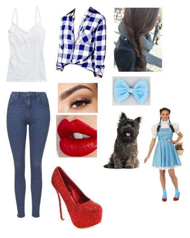 """Wizard Of Oz inspired"" by fireinmyeyes123 ❤ liked on Polyvore featuring Aerie, Rails, Topshop, Charlotte Tilbury, Lancôme and Full Tilt"