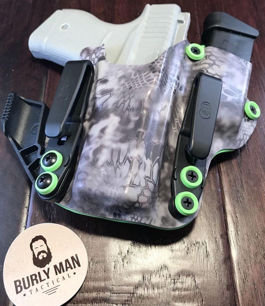 Fits Glock 43 G43 IWB Kydex Holster Eidolon Appendix Sidecar