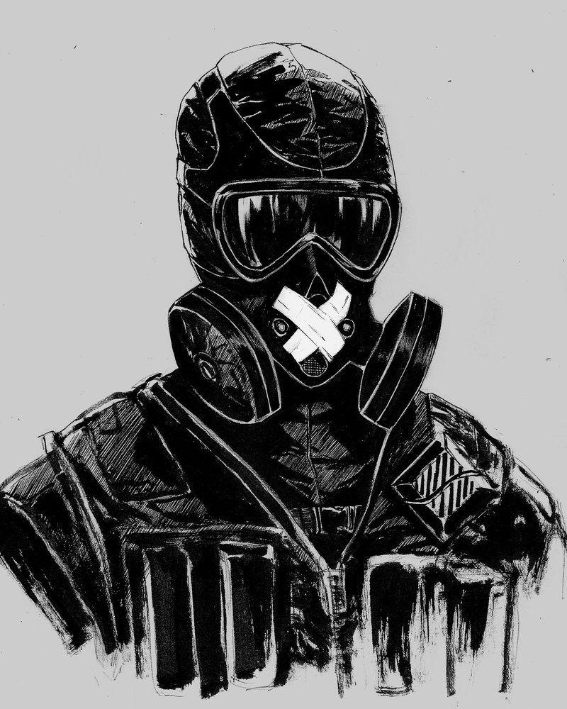 Mute By Aaronnsn Deviantart Com On Deviantart Rainbow Six Siege
