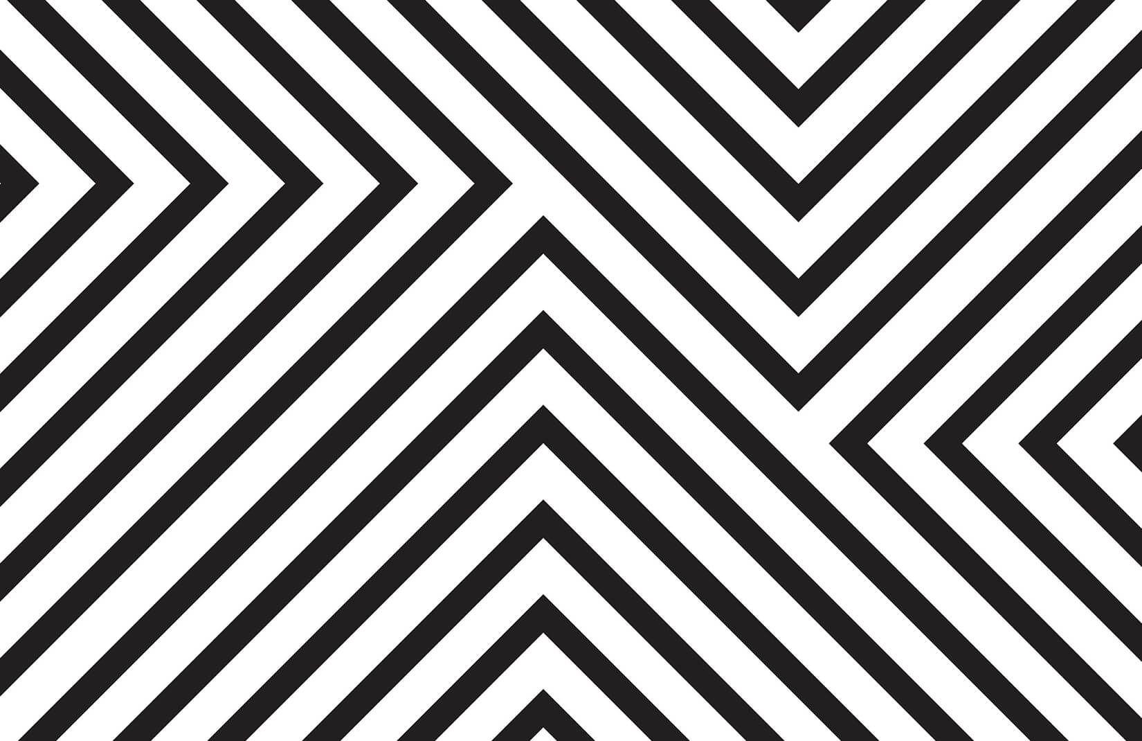 Mona Black White Striped Wallpaper Mural Hovia Striped Wallpaper Black And White Lines Lines Wallpaper