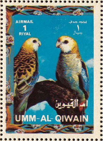 Pale-headed Rosella stamps - mainly images - gallery format