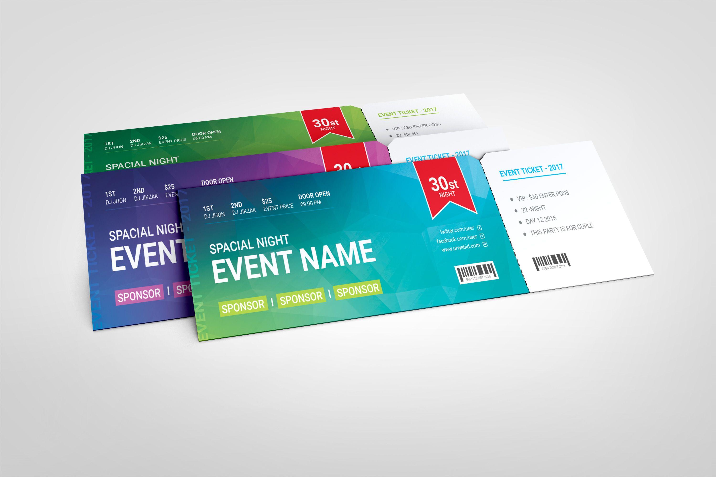 Premium Event Ticket Template Graphic Templates Ticket Template Event Ticket Template Event Tickets Design