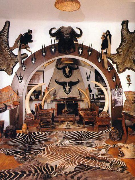 Trophy Room Design Ideas: Museum Of Africa In Balatonedics, Hungary.