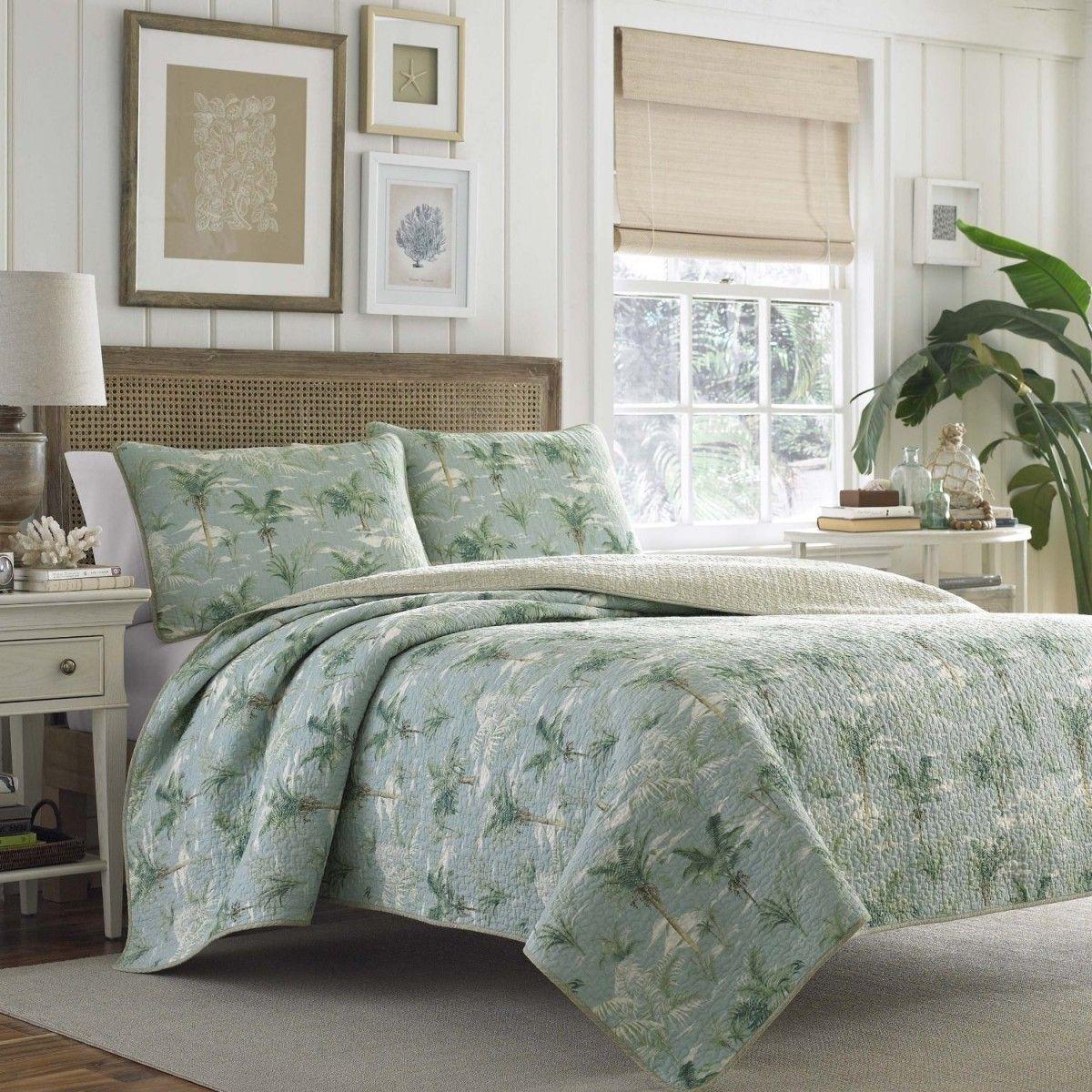 トミーバハマ ベッドキルト3点セット クイーン 寝具 ベッドカバ :bed208:アイディーリ輸入雑貨専門店 - 通販 - Yahoo!ショッピング