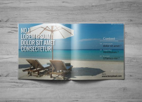 Creative Travel Brochure Template   Travel Brochure Template