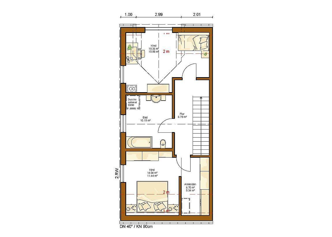 clou 115 grundriss dachgeschoss narrow house haus haus bauen und haus grundriss. Black Bedroom Furniture Sets. Home Design Ideas