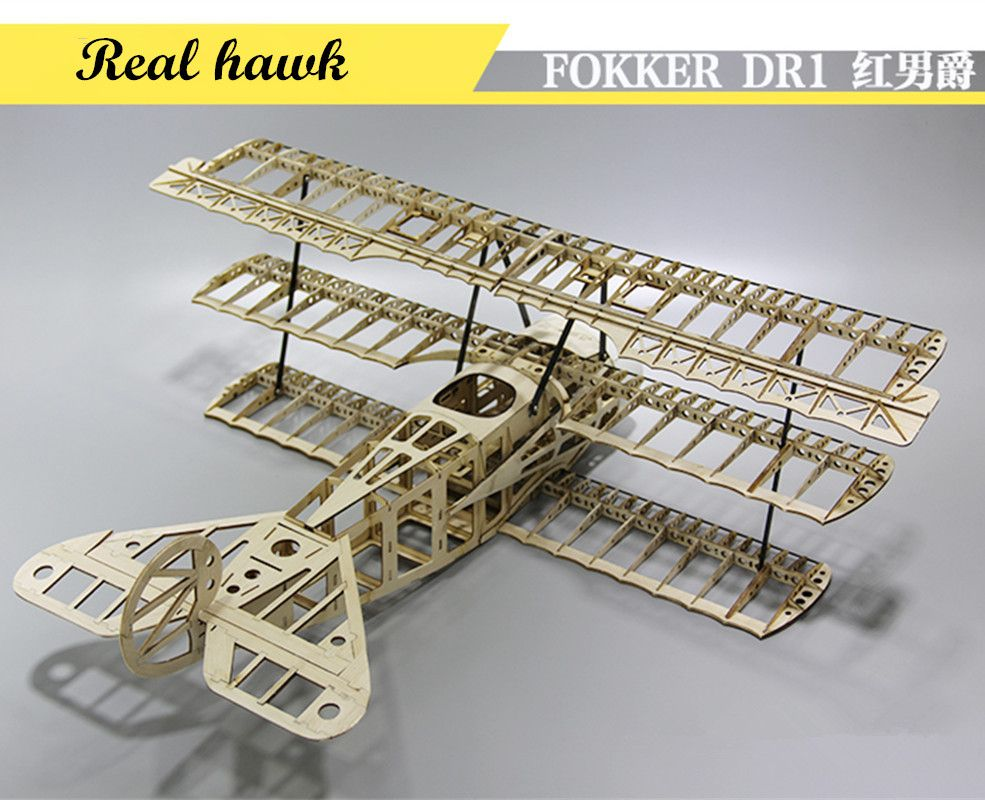 release date: add54 f9431 RC Plane Laser Cut Balsa Wood Airplane Kit FOKKER DR1 Frame without Cover  Wingspan 1000mm Free Shipping Model Building Kit Price  119.00   FREE  Shipping ...