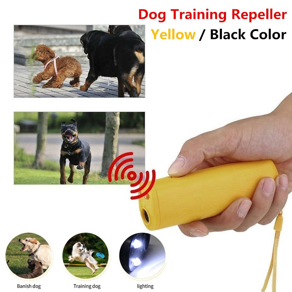 New Dog Repeller Ultrasound Pet Training Anti Barking Control Devices 3 in  1 Stop Bark Deterrents Trainer - Coupon top | Pet training, Pets, Pet dogs