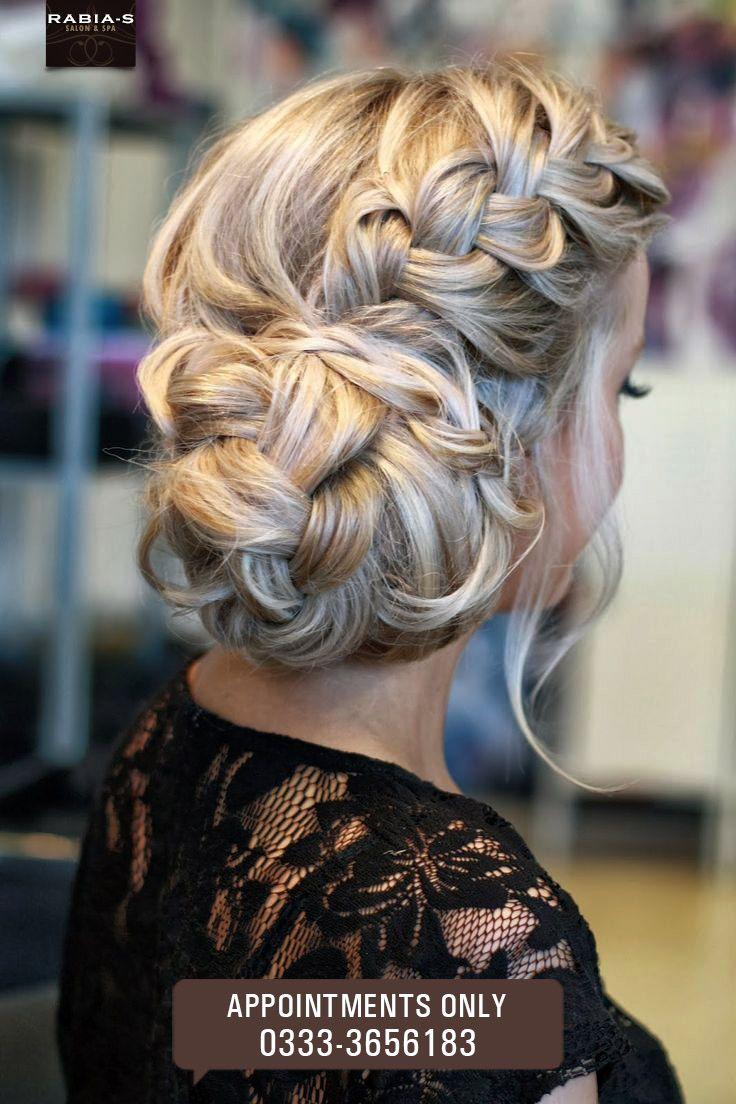 fishtail french braid braided bun #hairdo #updo #haircut