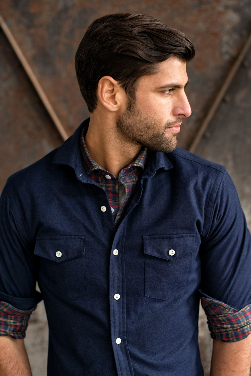Flannel over shirt  The Teton Flannel Overshirt from our Bonticou Peak collection