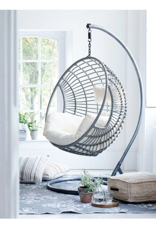 Amazing Relaxable Indoor Swing Chair Design Ideas 12 ...