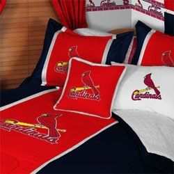 Mlb St Louis Cardinals Bed In A Bag Full Size Bedding By Mlb