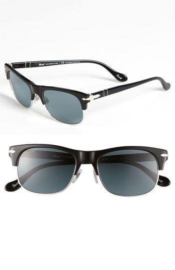 3e516231f7ba0 Persol 53mm  Cello Clubmaster  Sunglasses available at  Nordstrom ...