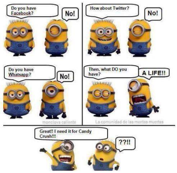 Funny Minion Cartoon Strip - http://jokideo.com/funny-minion-cartoon-strip/ ...