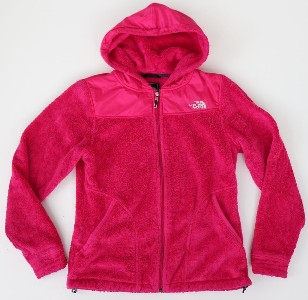 The North Face Womens Oso Plush Fleece Hoodie Jacket Passion Pink Small Fuzzy Thenorthface Fleecejack Fleece Jacket Womens Fleece Hoodie Jacket Fleece Jacket [ 972 x 1000 Pixel ]