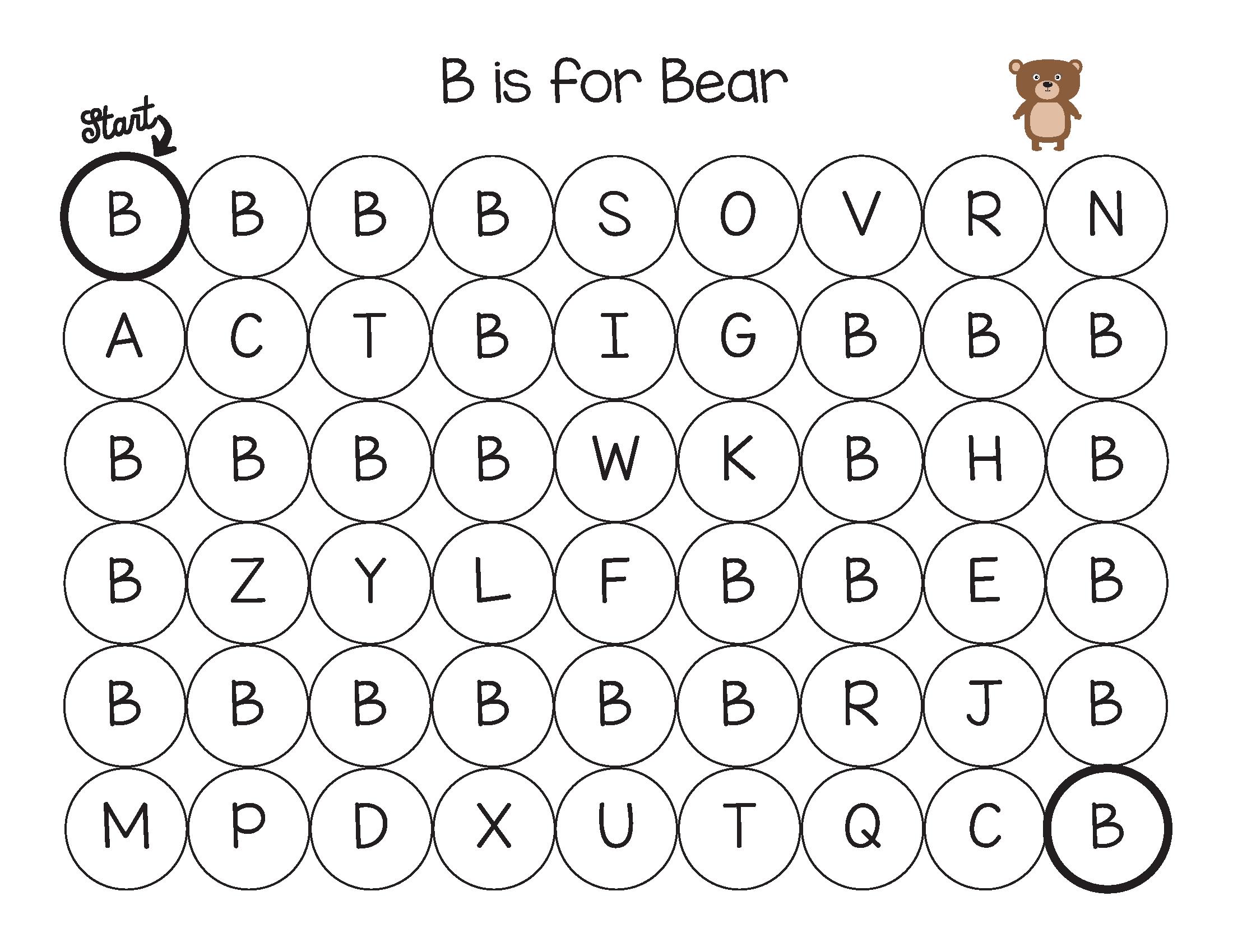 Animal Alphabet Do A Dot Printables