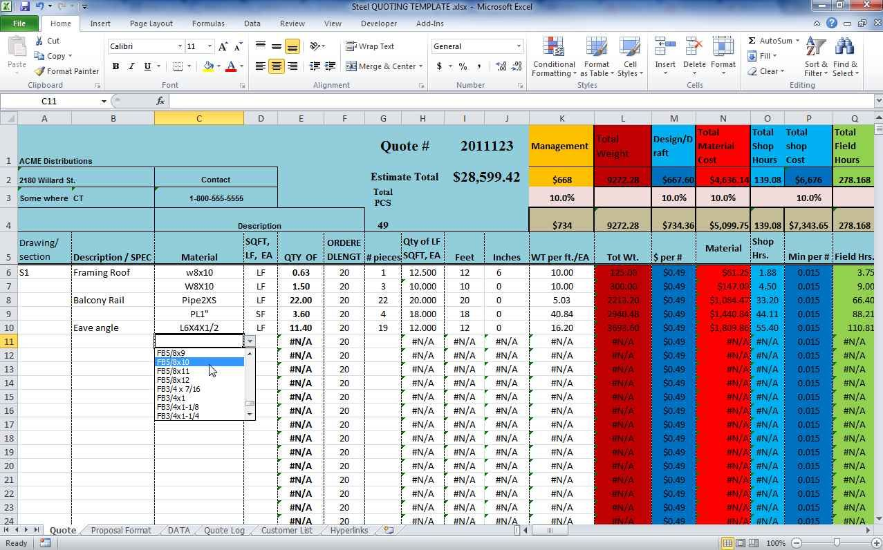 Structural Steel Estimating Software Free Download And