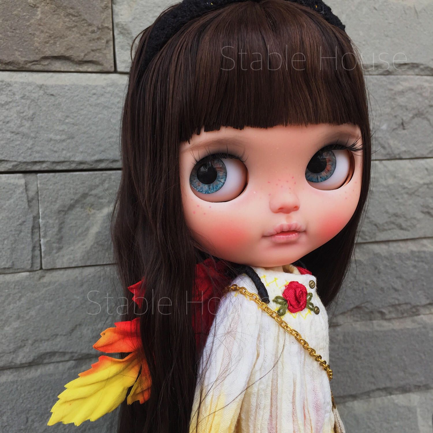 """Reserved for """"D"""" OOAK Custom Blythe Art Doll By Stablehouse No.185 """"Limei"""" by StableHouse on Etsy https://www.etsy.com/listing/127858917/reserved-for-d-ooak-custom-blythe-art"""