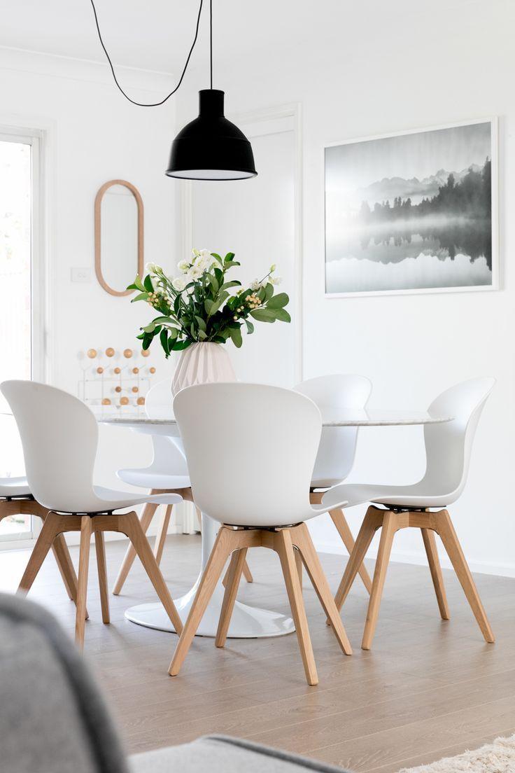 TREND   Tavolo da pranzo bianco, Design della sala da ...