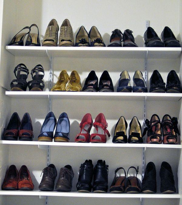 Le range chaussures mural - designs modernes - Archzine.fr | Rangement chaussures, Range ...