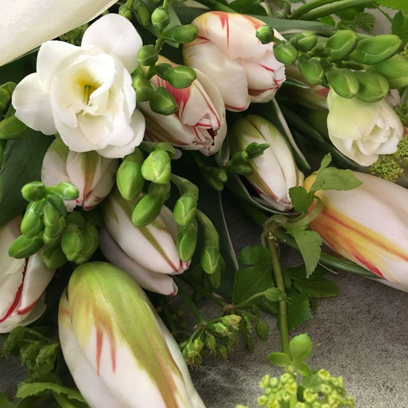 Bouquet sposa matrimonio allestimento tulipani ...