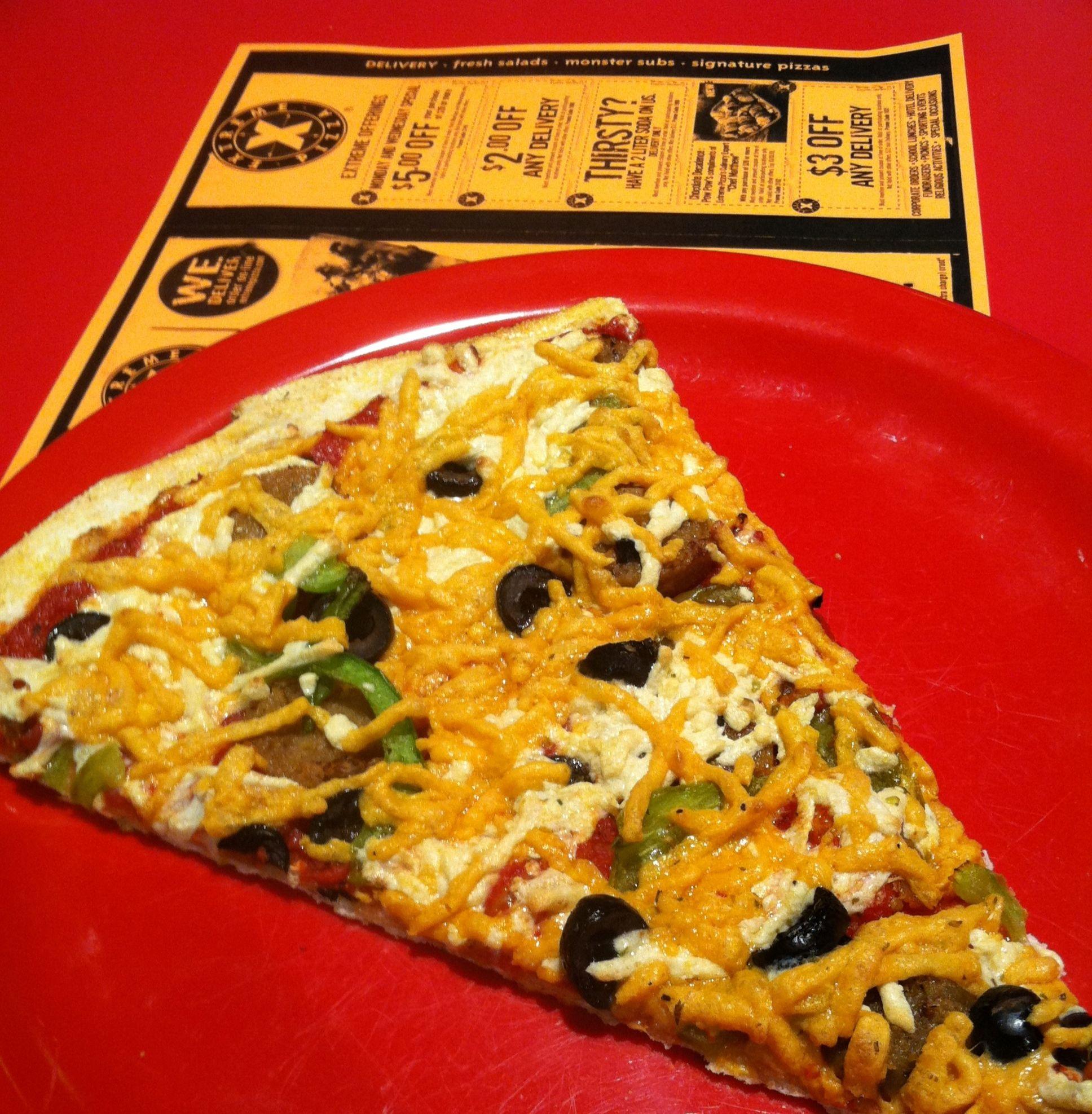 Extreme Pizza Omaha Daiya Cheese With Field Roast Grain