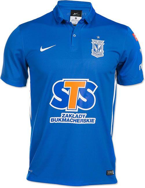Lech Poznan 2015 16 Nike Home Kit Sports Shirts Football Shirts Shirts