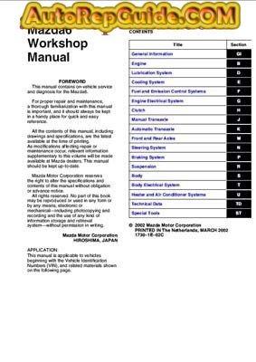 download free mazda 6 repair manual image https www rh pinterest com Mazda 6 Shop Manual PDF Mazda Auto Repair Manual