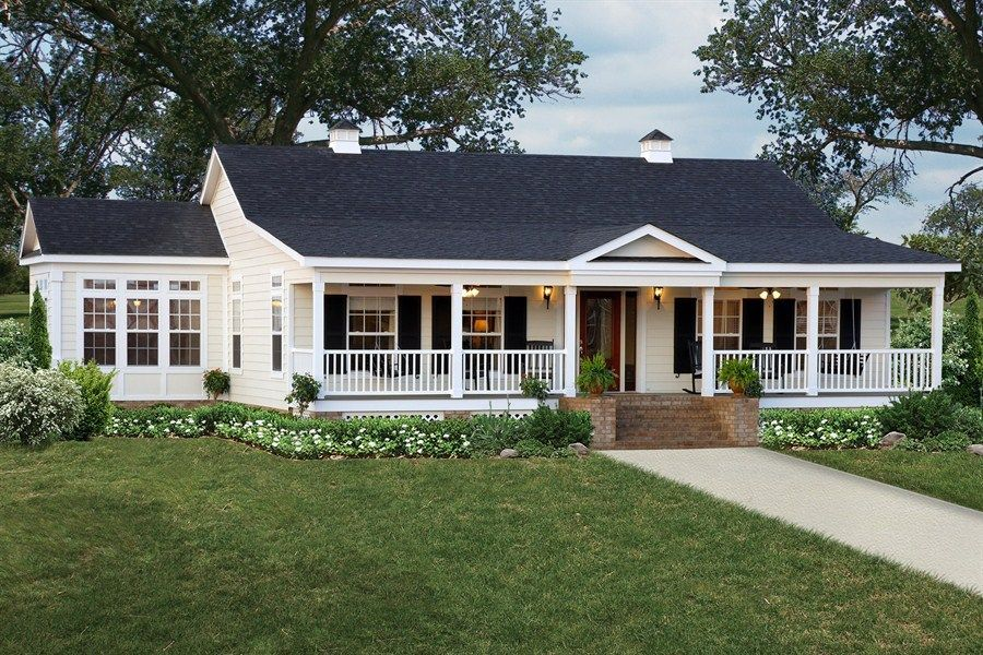 Photos the williow ez 803 43eze43563ah clayton homes for Single wide floor plans with porch