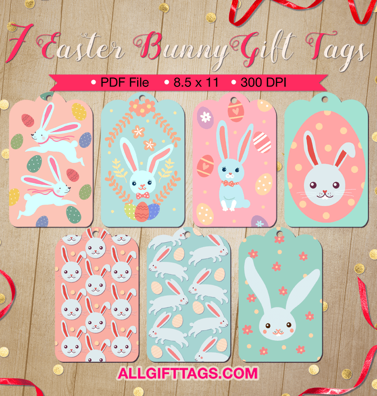 Printable easter bunny gift tags get them in pdf format at http printable easter bunny gift tags get them in pdf format at http negle Choice Image