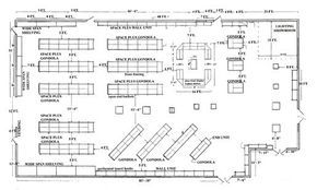 Retail Store Floor Plan With Dimensions Google Search Grocery Store Design Pet Store Design Store Layout