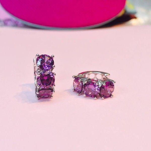 Amara Amara Purple Amethyst Earrings Q7bholS