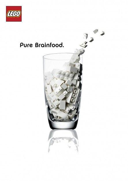 LEGO - Pure Brainfood.