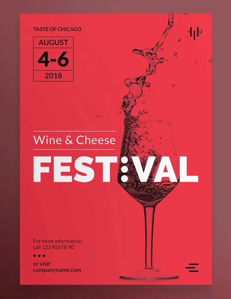 Wine Festival Poster Template In 2020 Poster Template Wine Festival Wine Event Poster
