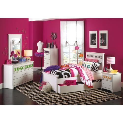 badcock furniture wonderland twin bedroom | serious furniture