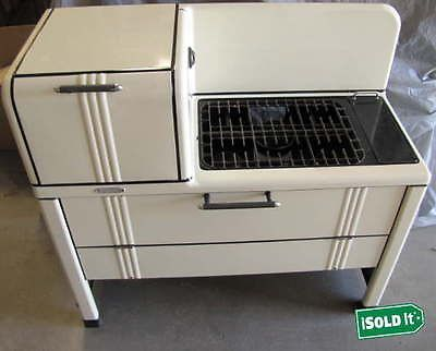 Vintage 1940 S New Perfection Co Kerosene Cook Oven Stove